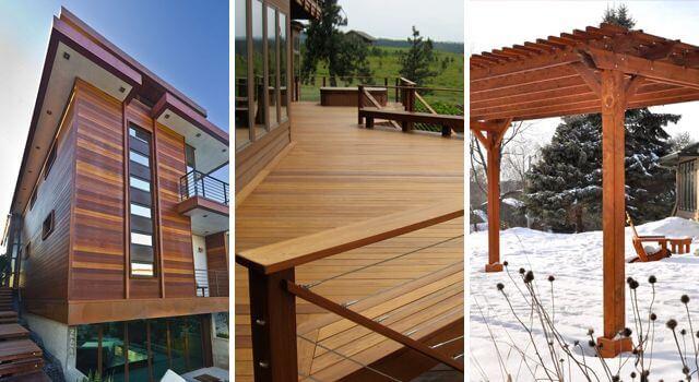 usos madera intemperie