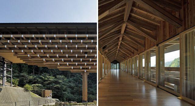 puentes vigas de madera laminada