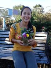 Leah Ingram, Madera Elementary's new Garden Coordinator.