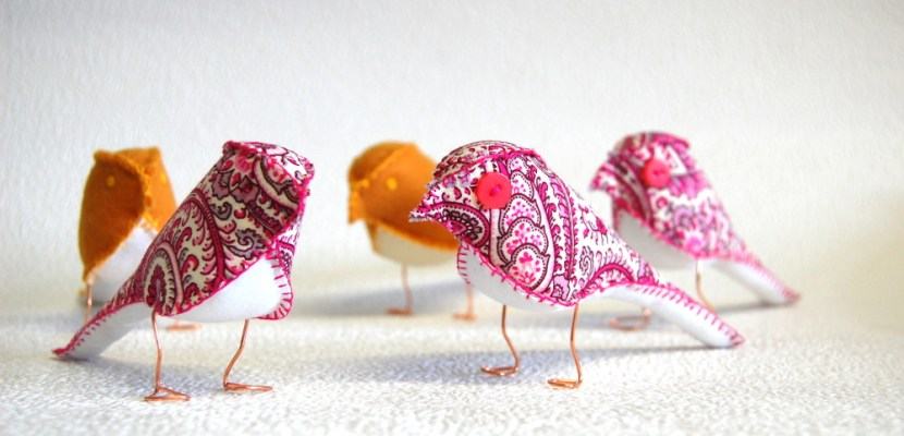fabric finches