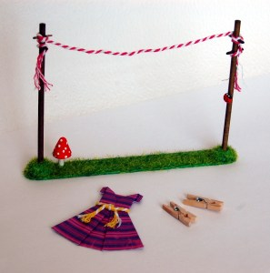 Miniature Washing Lines