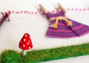 Miniature Washing Lines