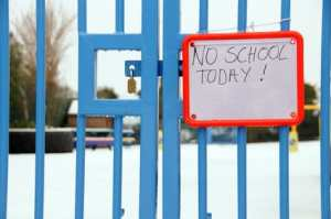 school closed by snow and the wrong KPIs