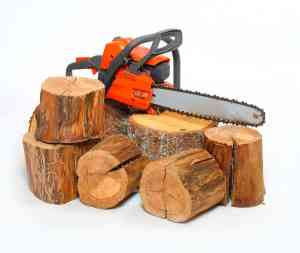 A chainsaw, not the recommended Tree Diagram tools