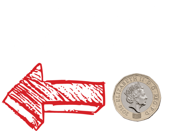 Yours for a pound@3x