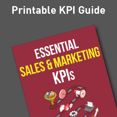 Sales and Marketing KPI Guide Ad