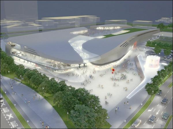 SES SPAR apre nel 2019 il suo nuovo futuristico Mall in Slovenia