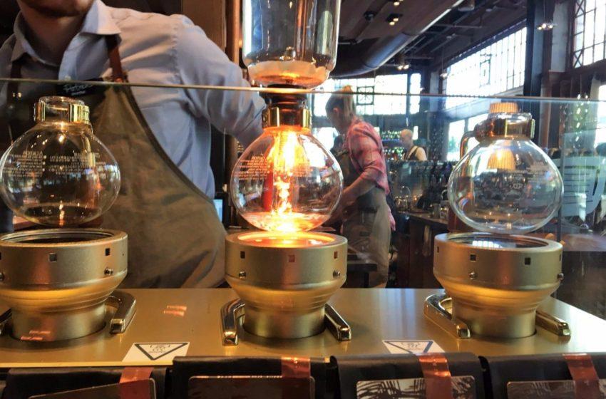 Il caffè di Starbucks entra in riserva
