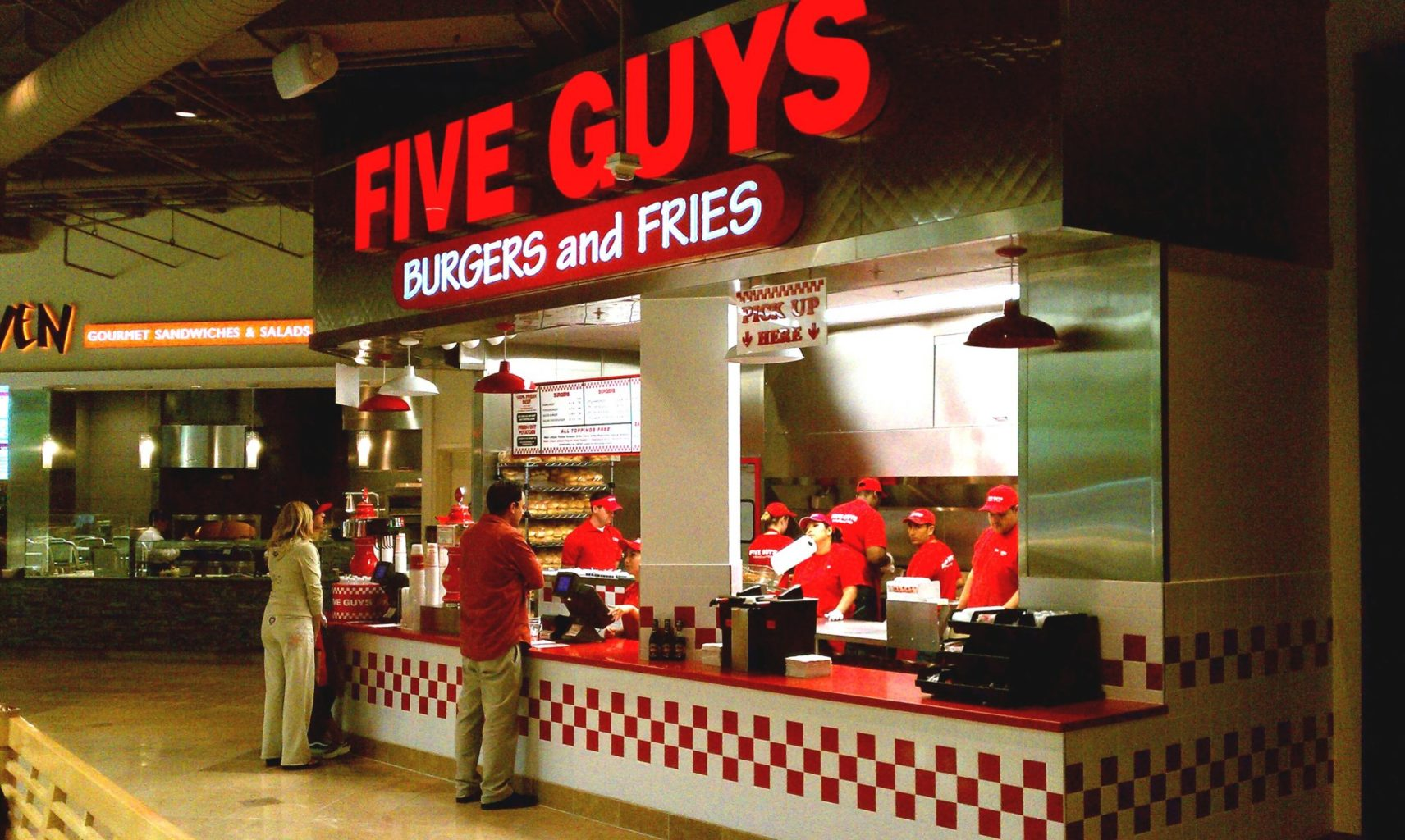 five guys sbarca in italia