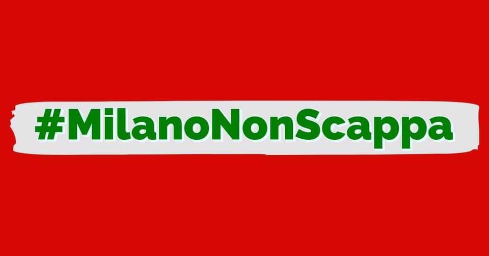#MilanoNonScappa