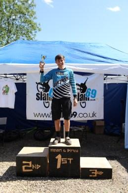 Charlie Millman, Junior winner. 25k