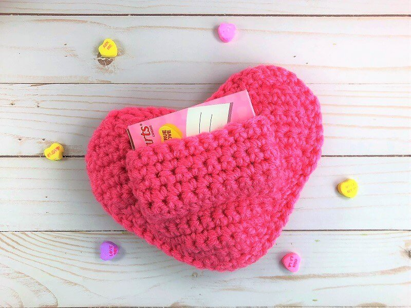 free crochet pattern conversation heart