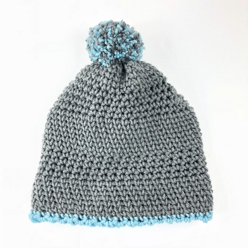 Free Crochet Pattern Double Thick Beanie Made With A Twist