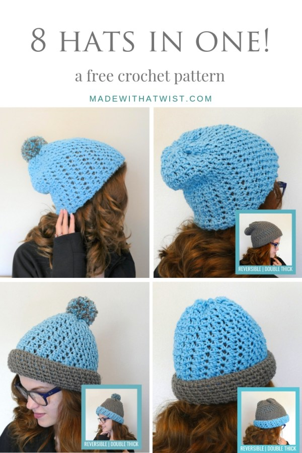 pinterest sized image of the polly reversible beanie
