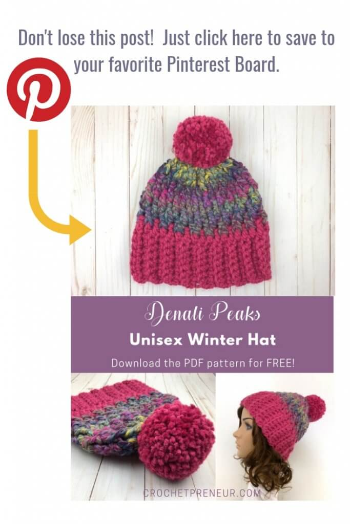 62791dc63fac3 A super easy pattern for a hat that everyone on your gift list will love!