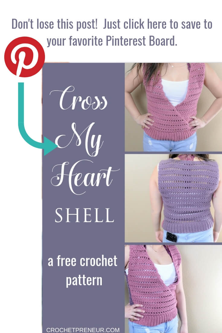 Pin It Graphic for Cross My Heart Shell