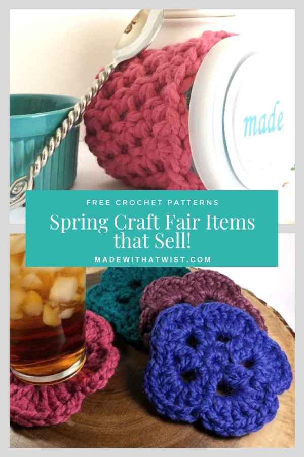 8 In Demand Crochet Items For Summer Craft Fairs Made With A Twist