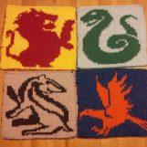 Hogwarts Wappen (Latte & Llamas)