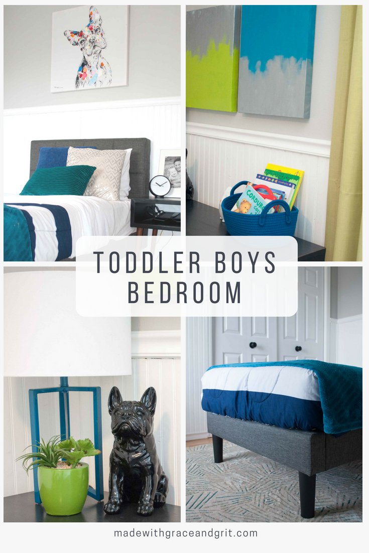 Between His Nursery And His Brothers Old Decor I Had A Lot On Hand. I Was  Able To Refresh This Entire Space Including The Bed And Mattress For Under  $360!
