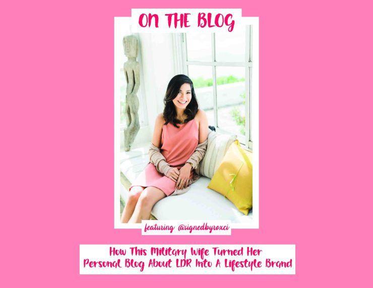 military wife turned personal blog to lifestyle brand