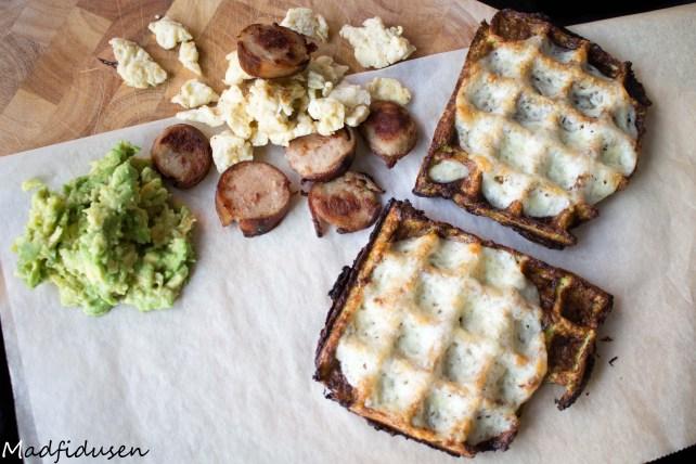 Breakfast waffle01