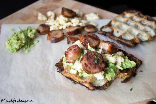 Breakfast waffle02