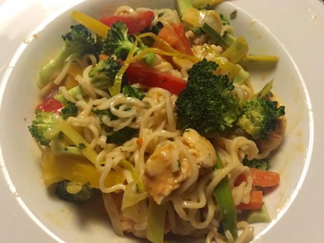 Sprød og sund Thai wok