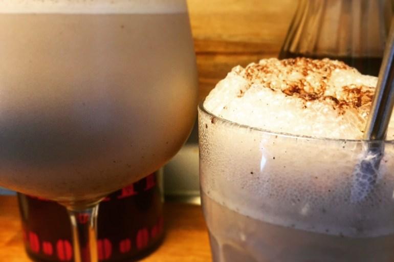 Syndig og cremet iskaffe