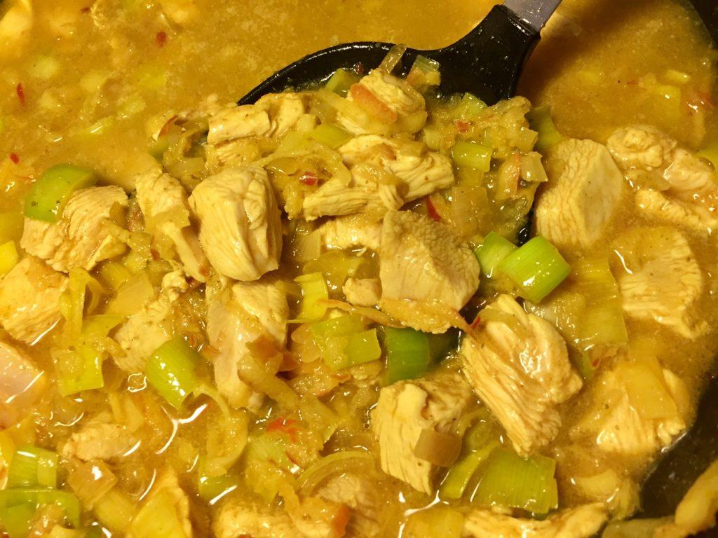 Drønlækker og sund ristaffel med kylling
