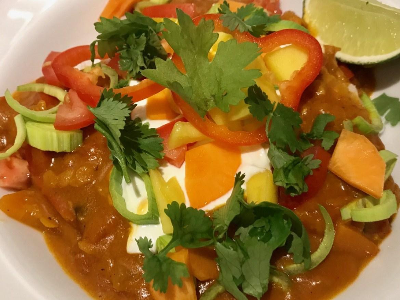 Lækker vegetarisk linsegryde - indisk dahl
