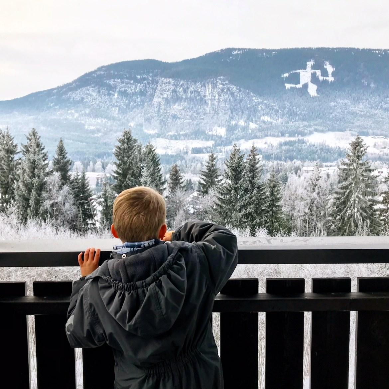 Sjov og aktiv familieferie er skiferie i Sverige og Norge