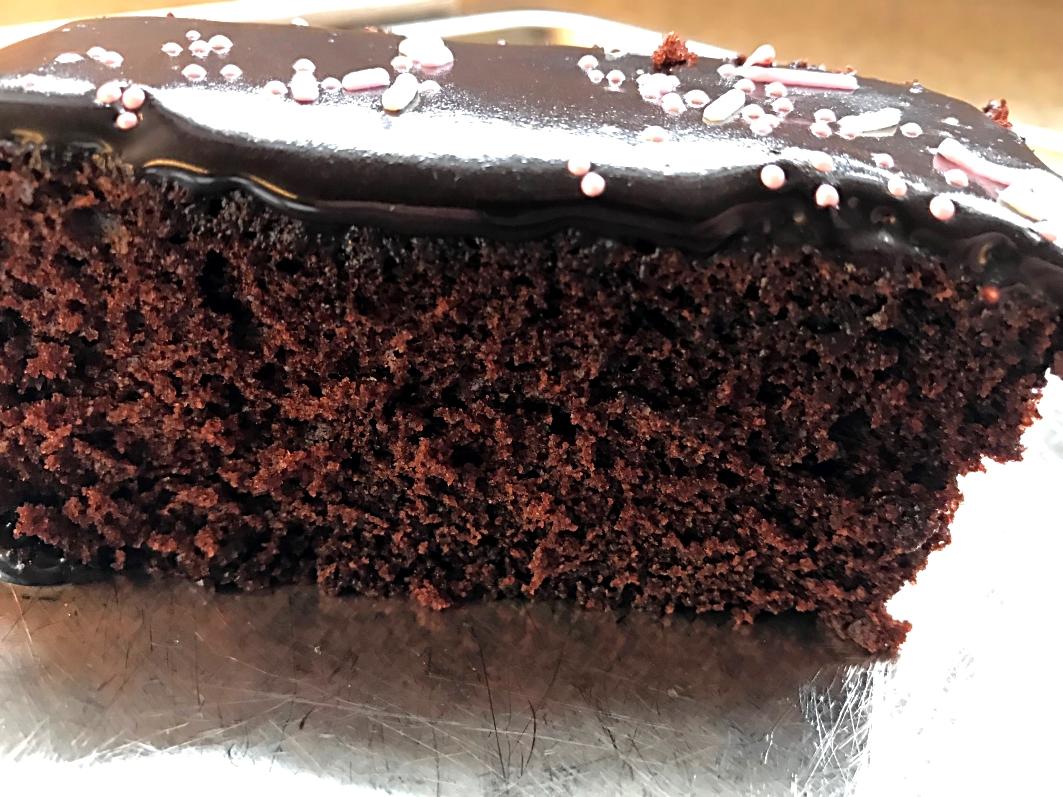 Nem og lækker chokoladekage