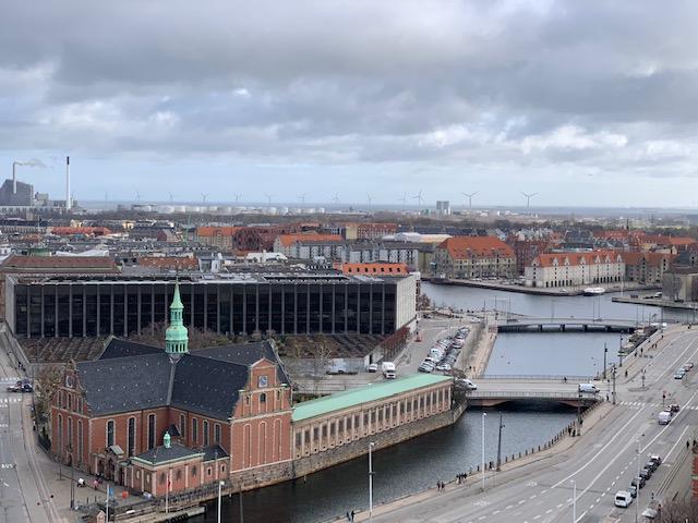Udsigt over København fra Tårnet