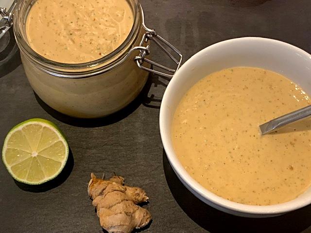 Peanutbuttersauce som dip eller til marinader