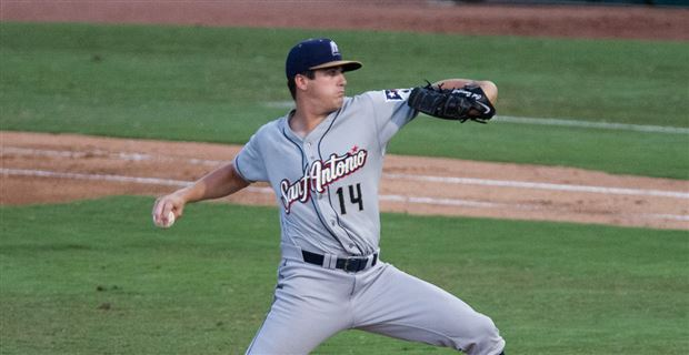 Padres prospect Cal Quantrill pitches for San Antonio Missions