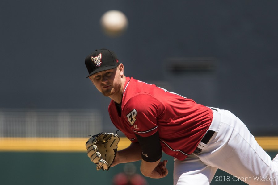 Padres prospect Eric Lauer pitches for El Paso.