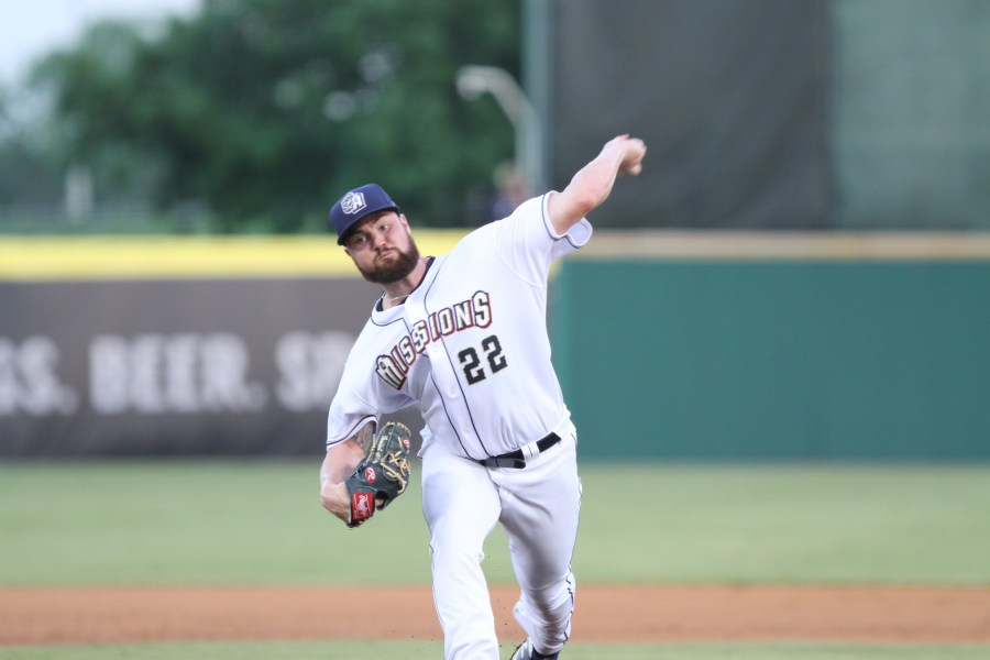 Padres pitching prospect Logan Allen delivers for San Antonio Missions