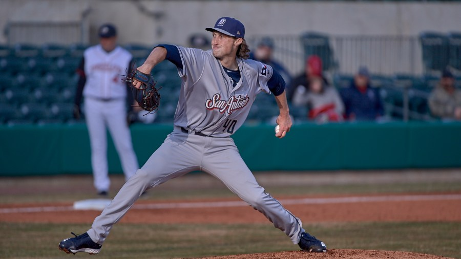 San Diego Padres pitcher Matt Strahm