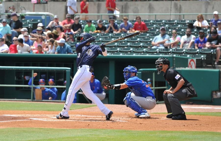 Padres prospect Fernando Tatis Jr. bats for San Antonio Missions