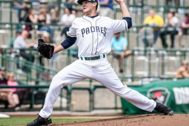 Padres prospect Nick Margevicius pitches for Fort Wayne TinCaps