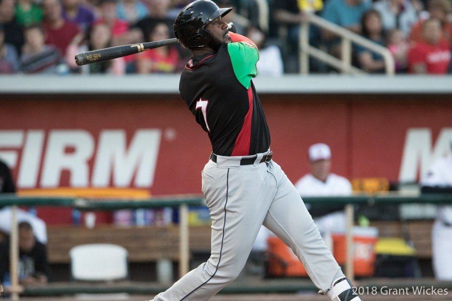 Padres prospect Franmil Reyes slugs another homer for El Paso Chihuahuas