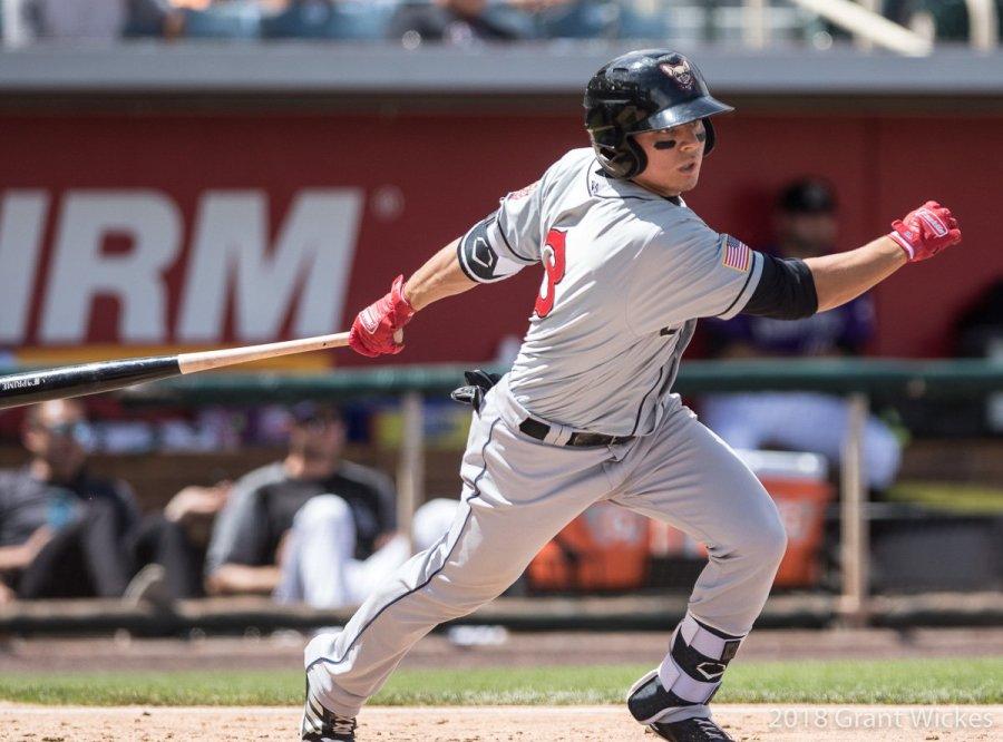 Padres prospect Luis Urias bats for El Paso Chihuahuas