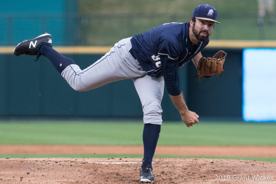 Padres prospect Jesse Scholtens pitches for San Antonio Missions