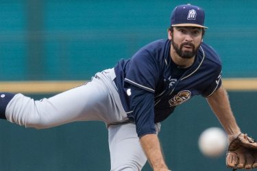 Jesse Scholtens, Padres prospect pitches for San Antonio Missions
