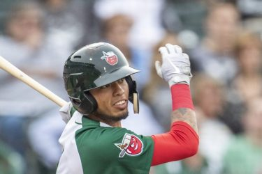 Gabriel Arias Padres prospect hitting for Fort Wayne TinCaps