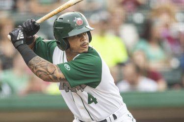 Padres prospect Luis Campusano bats for Fort Wayne TinCaps