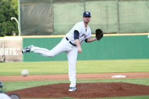 Padres prospect Jacob Nix pitches for San Antonio Missions.