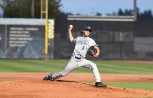 Padres prospect Cole Bellinger pitches for Tri-City Dust Devils