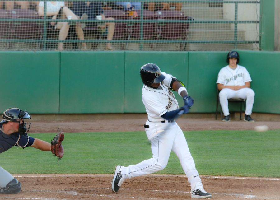 Padres prospect Olivier Basabe for Tri-City Dust Devils