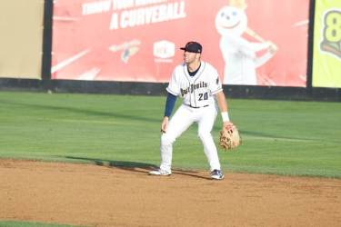 Padres prospect Owen Miller for Tri-City Dust Devils
